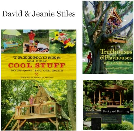 David and Jeanie Stiles' treehouse books