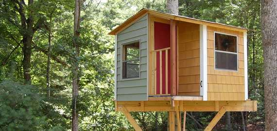 The Treehouse Guide Download tree house plans