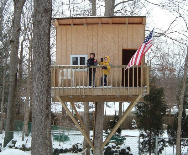 tree house plans for one tree. cary thumbnail tree house plans for one o