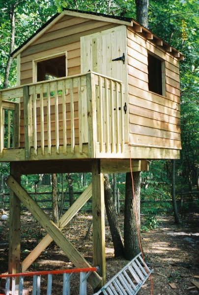 The treehouse guide usa treehouse list for Building a house where to start