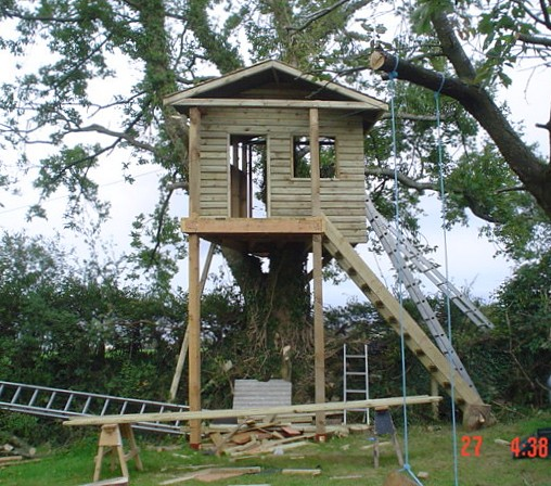 free standing tree housenhow to build pictures tree house